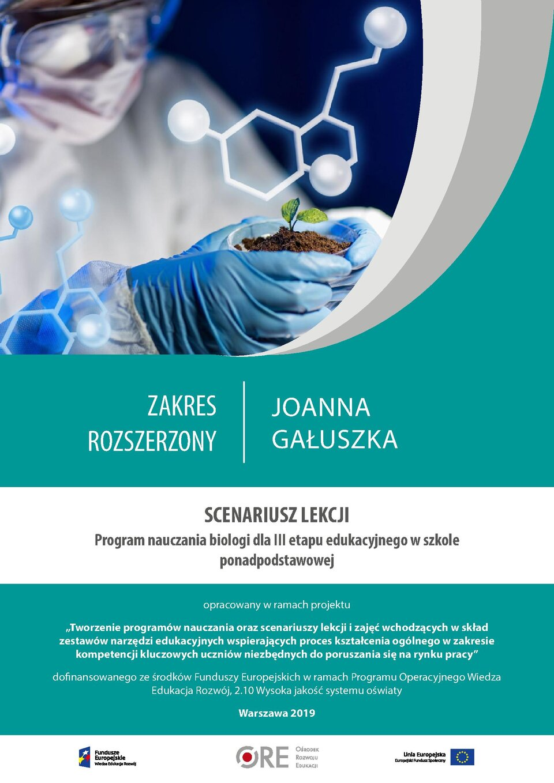 Pobierz plik: Scenariusz 25 Gałuszka SPP Biologia rozszerzony.pdf