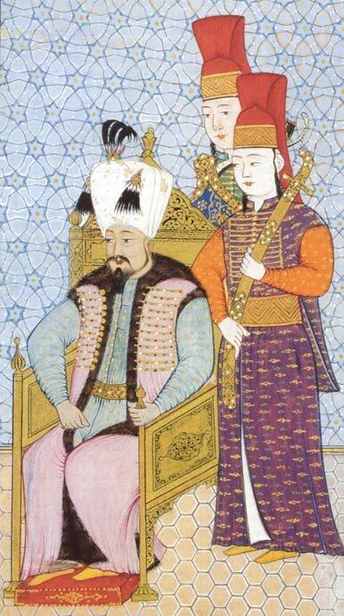 Mehmed IV sułtan wl. 1648-1687 Źródło: Mehmed IV sułtan wl. 1648-1687, XVII w., Badisches Landesmuseum, domena publiczna.