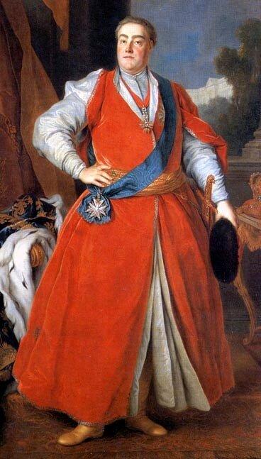 Portret króla Augusta III wstroju polskim Źródło: Louis de Silvestre, Portret króla Augusta III wstroju polskim, ok. 1737, olej na płótnie, Gemäldegalerie Alte Meister, Drezno, domena publiczna.