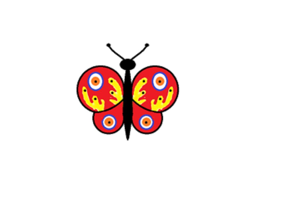 Ilustracja przedstawiająca motyla
