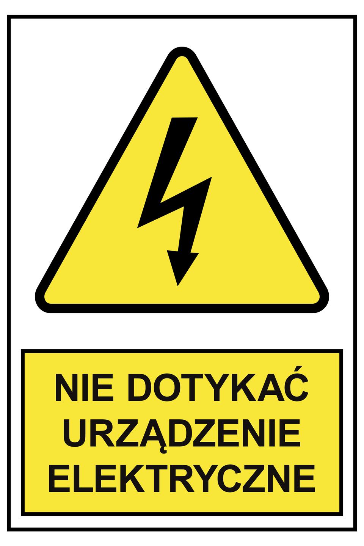 Zdjęcie 4: Tabliczka ostrzegawcza