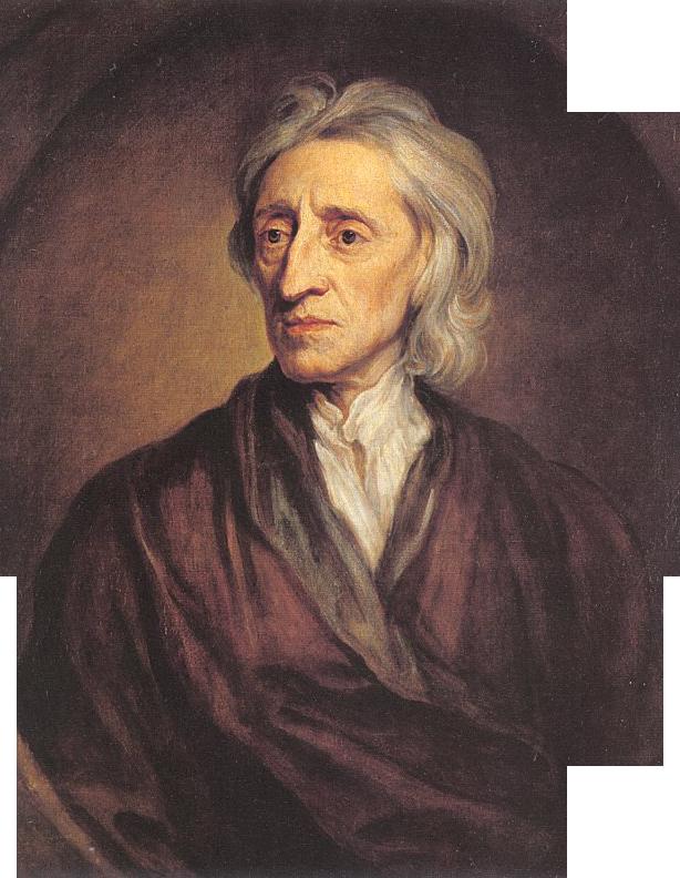 PortretJohna Locka PortretJohna Locka Źródło: Godfrey Kneller, 1697, Emitaż wPetersburgu, domena publiczna.