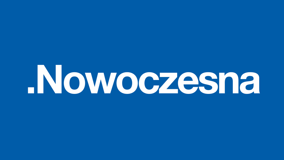 Logo partii .Nowoczesna