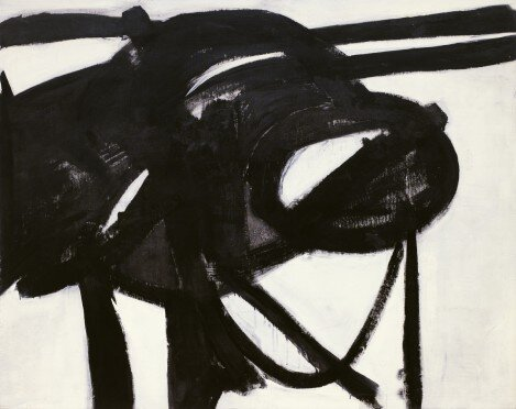 Chief Źródło: Franz Kline, Chief, 1950, olej na płótnie, Museum of Modern Art, Nowy Jork.
