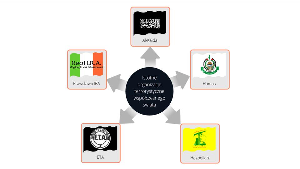 Istotne organizacje terrorystyczne współczesnego świata