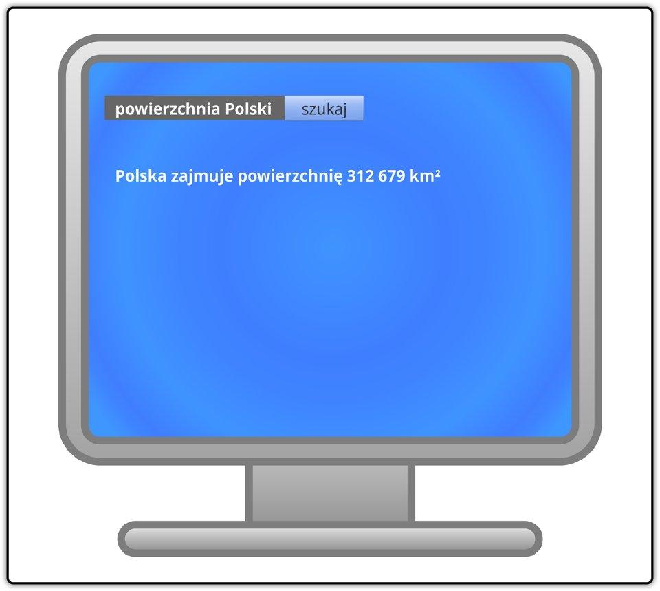 Ilustracja przedstawiająca monitor