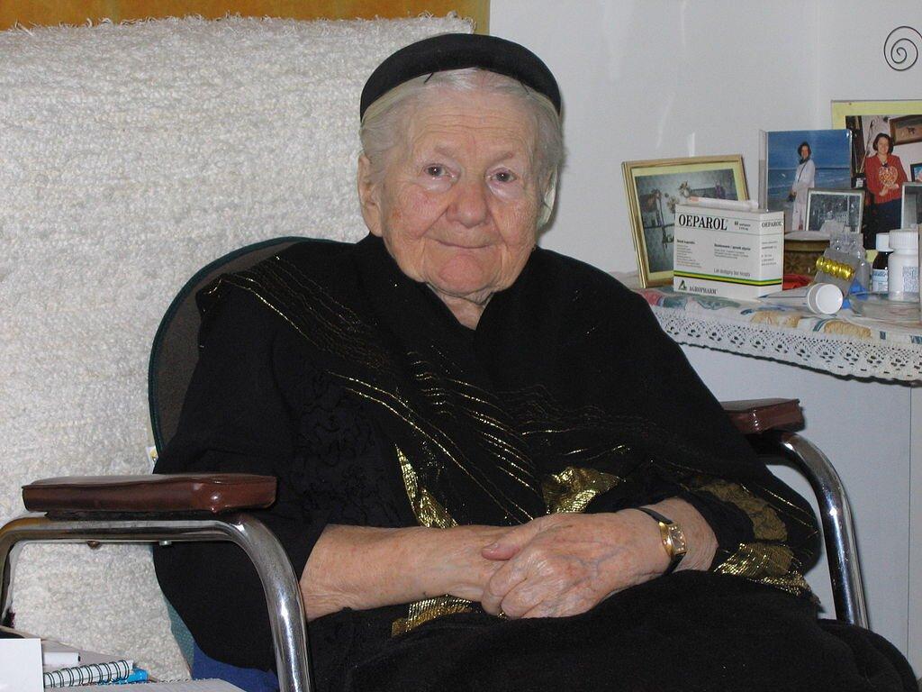 Irena Sendlerowa w2005 r. Irena Sendlerowa w2005 r. Źródło: Mariusz Kubik, licencja: CC BY 3.0.