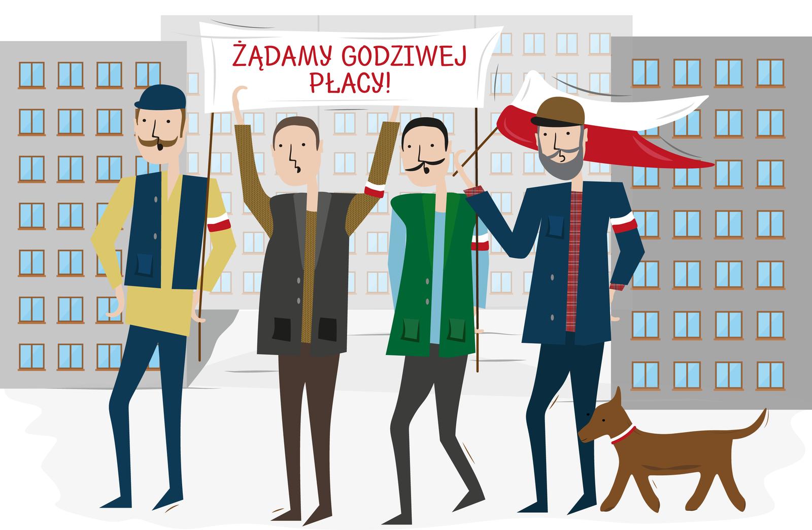 Sztandar Źródło: Contentplus.pl sp. zo.o., licencja: CC BY 3.0.