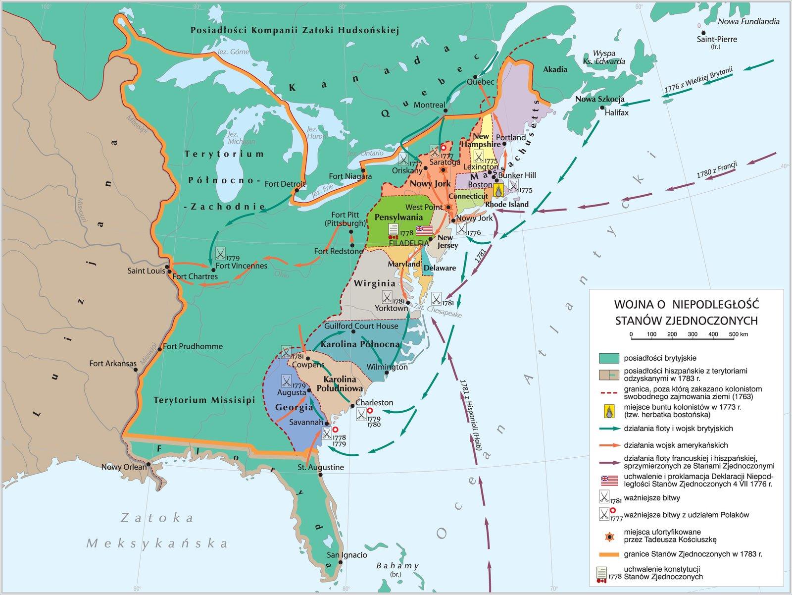 Wojna oniepodległość Stanów Zjednoczonych