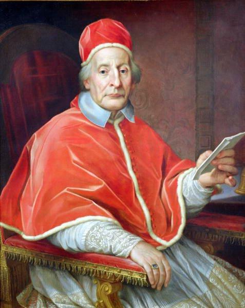 Klemens XII, papież wl. 1730-1740 Klemens XII, papież wl. 1730-1740 Źródło: Agostino Masucci, domena publiczna.