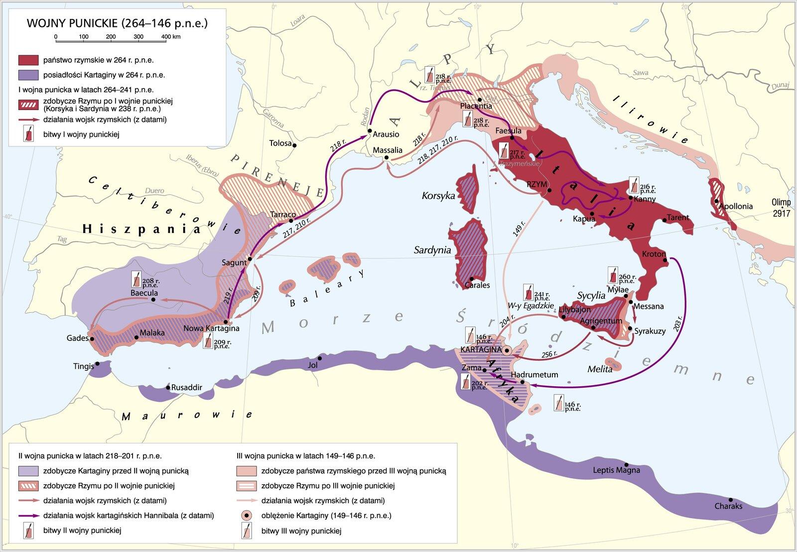 Wojny punickie Wojny punickie Źródło: Krystian Chariza izespół.