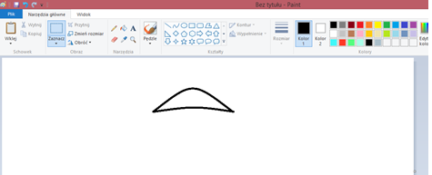 Ilustracja przedstawiająca kapelusz grzybka