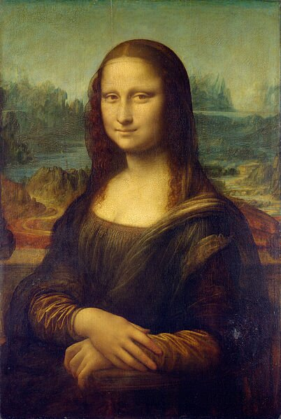 Mona Lisa Źródło: Leonardo da Vinci, Mona Lisa, domena publiczna.
