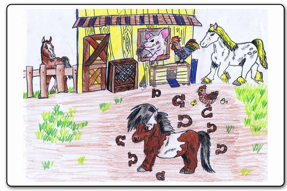 Ilustracja 11 galerii prac plastycznych uczniów