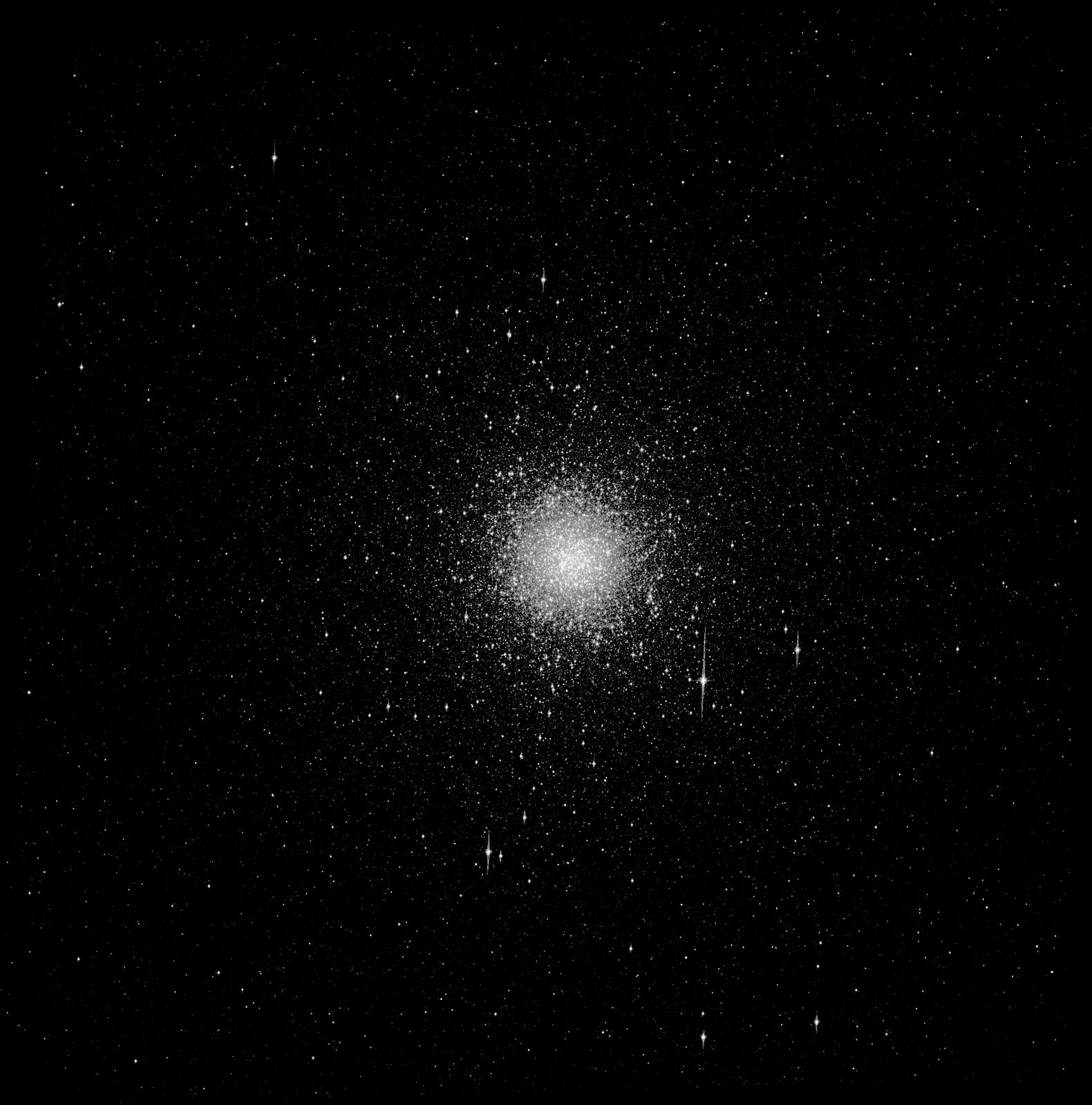 Zdjęcie przedstawia galaktykę eliptyczną.