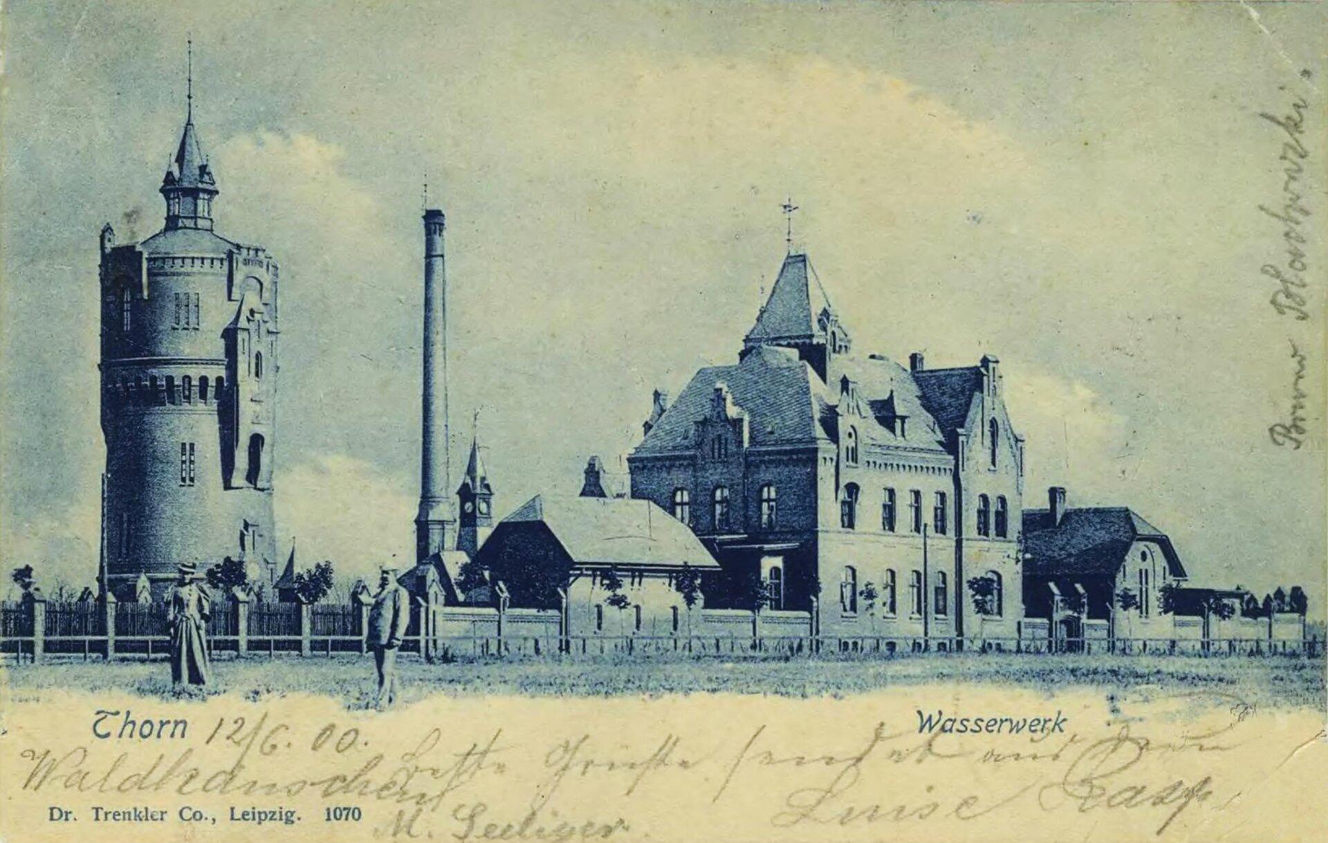 Toruń - fabryka wStarych Bielanach Toruń - fabryka wStarych Bielanach Źródło: domena publiczna.
