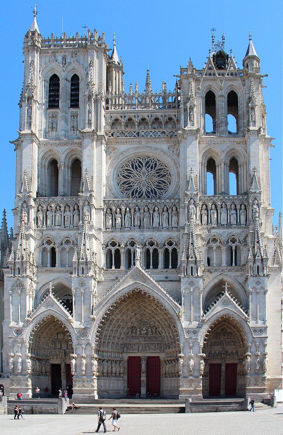 Amiens Źródło: Jean-Pol Grandmont, Amiens, 2012, licencja: CC BY 3.0.