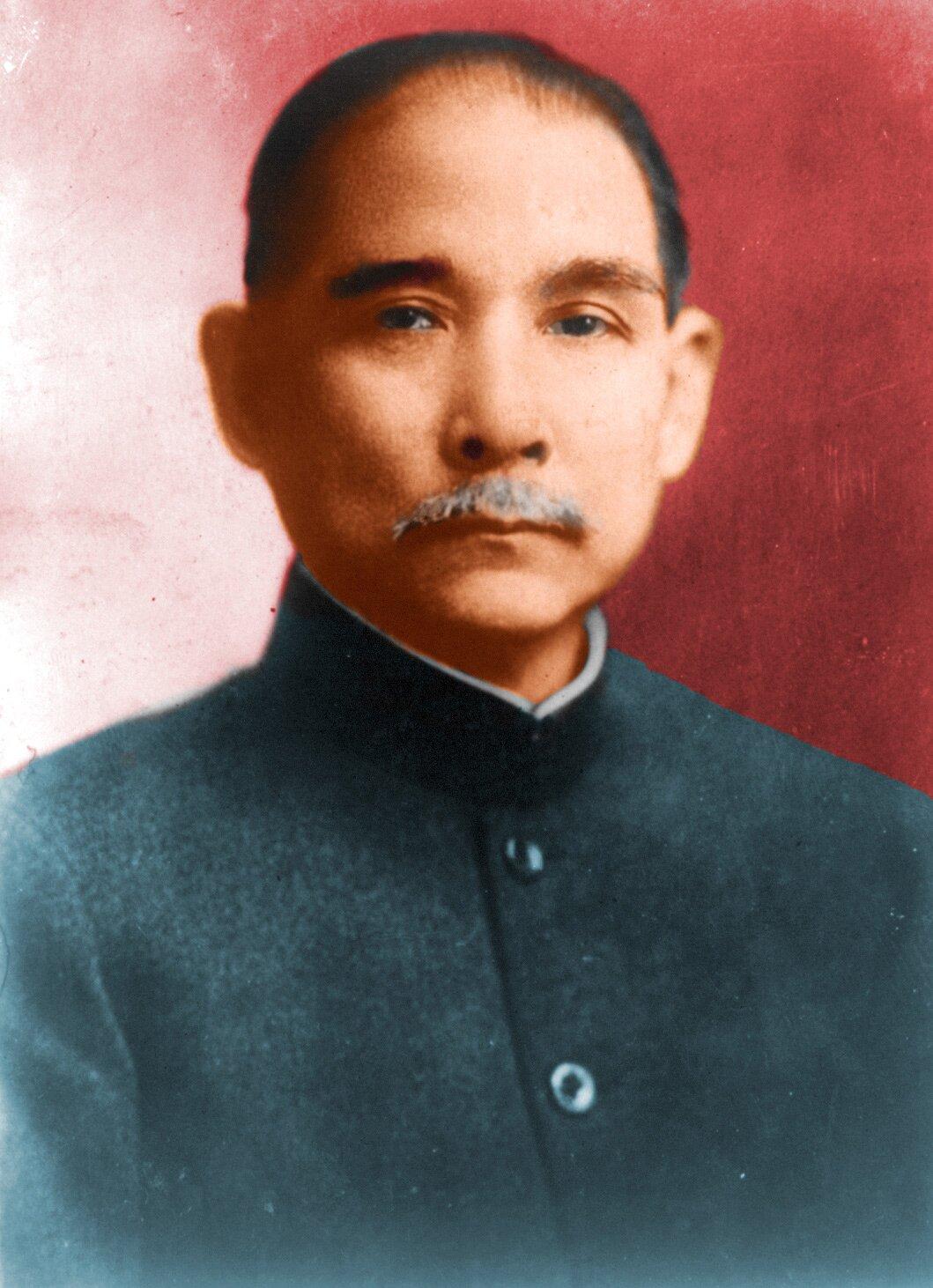 Sun Jat-Sen Źródło: Militaryace, Sun Jat-Sen, domena publiczna.