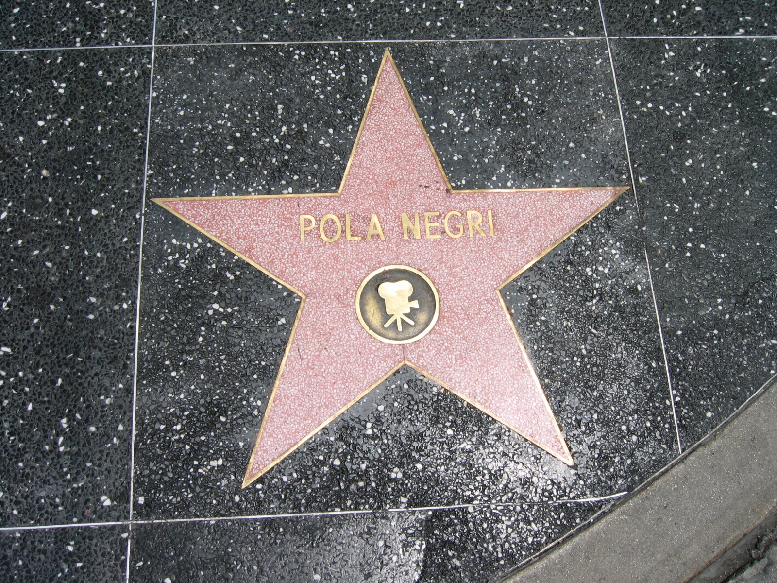 Gwiazda Poli Negri – Polki, jej prawdziwe personalia to Apolonia Chałupiec Źródło: Mariusz Paździora, Gwiazda Poli Negri – Polki, jej prawdziwe personalia to Apolonia Chałupiec, Fotografia, licencja: CC BY-SA 4.0.