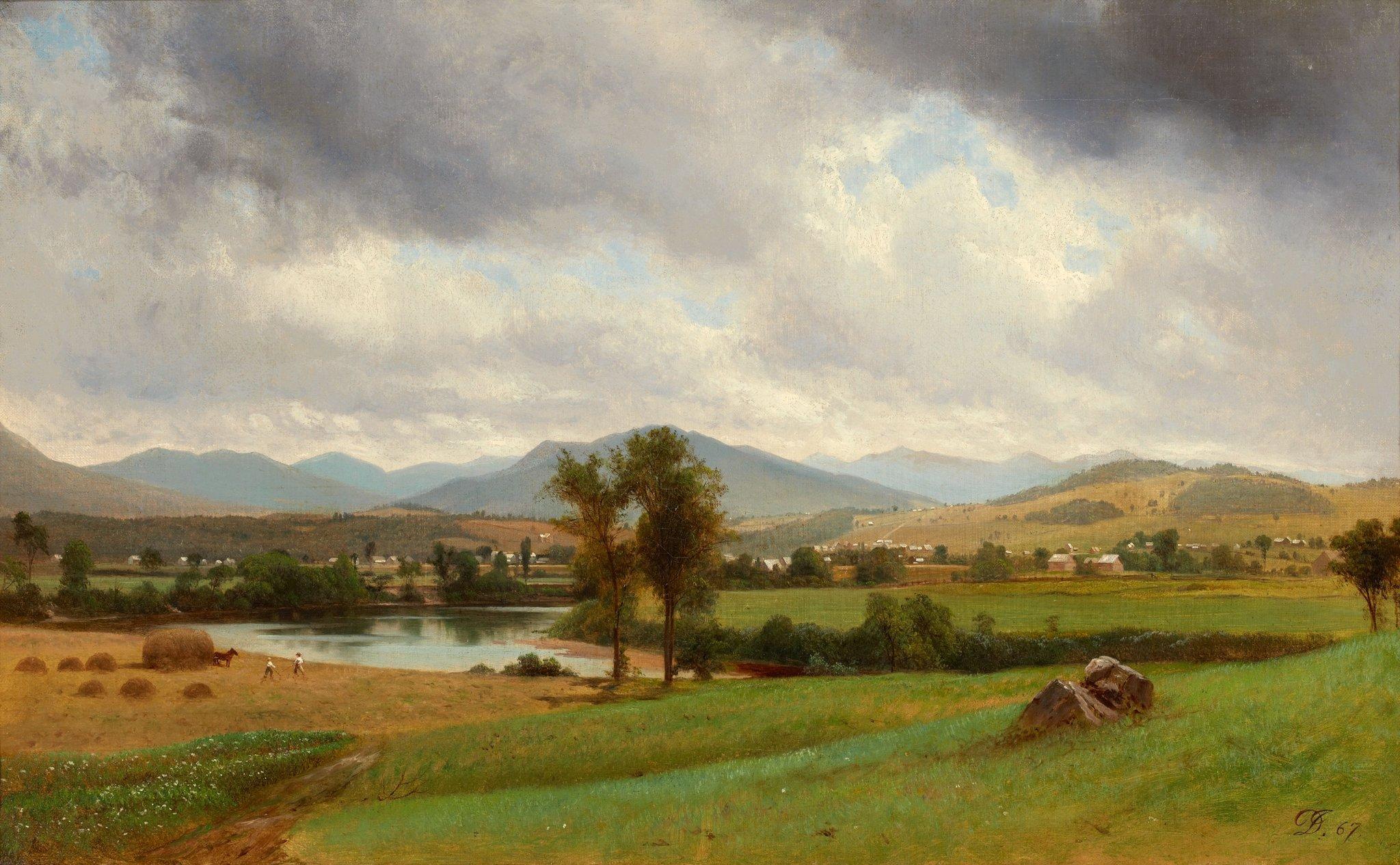 Bez tytułu Źródło: David Johnson, Bez tytułu, 1867, olej na płótnie, domena publiczna.