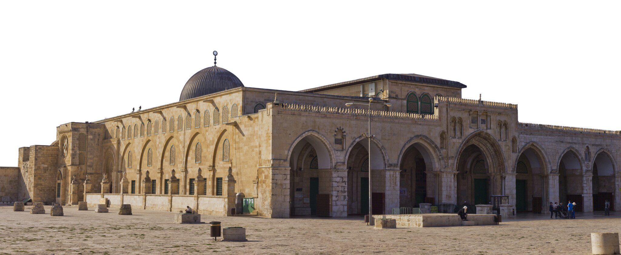 Meczet Al-Aksa wJerozolimie Meczet Al-Aksa wJerozolimie Źródło: Godot13, Wikimedia Commons, licencja: CC BY-SA 3.0.