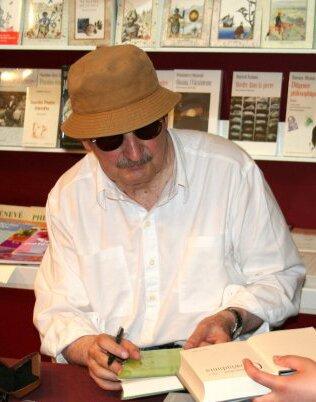 Zdjęcie Mrożka Źródło: Michał Kobyliński (fot.), 2006, licencja: CC BY-SA 2.5.