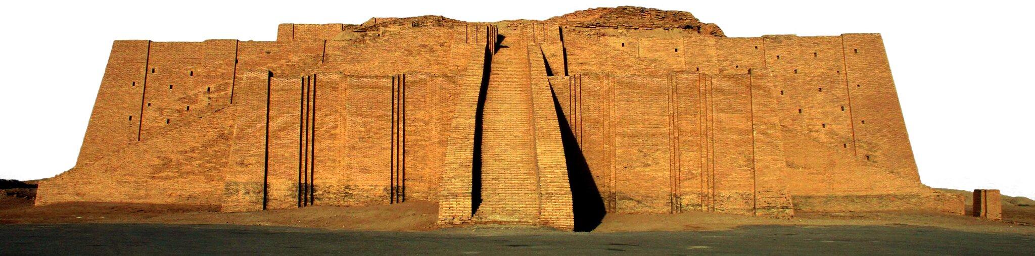 Sumerowiewierzyli wwielu bogów. Każde miasto miało swoje bóstwo opiekuńcze. Świątynie stawiano na szczytach konstrukcji zwanych zigguratami. WMezopotamii trudno było okamień, więc zikkuraty budowano zglinianych, suszonych na słońcu cegieł. Sumerowiewierzyli wwielu bogów. Każde miasto miało swoje bóstwo opiekuńcze. Świątynie stawiano na szczytach konstrukcji zwanych zigguratami. WMezopotamii trudno było okamień, więc zikkuraty budowano zglinianych, suszonych na słońcu cegieł. Źródło: domena publiczna.