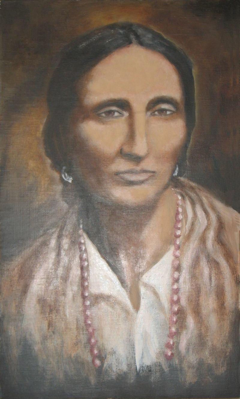 Portret Papuszy Źródło: Krystyna Jóźwiak-Gierlińska, Portret Papuszy, 2008, domena publiczna.