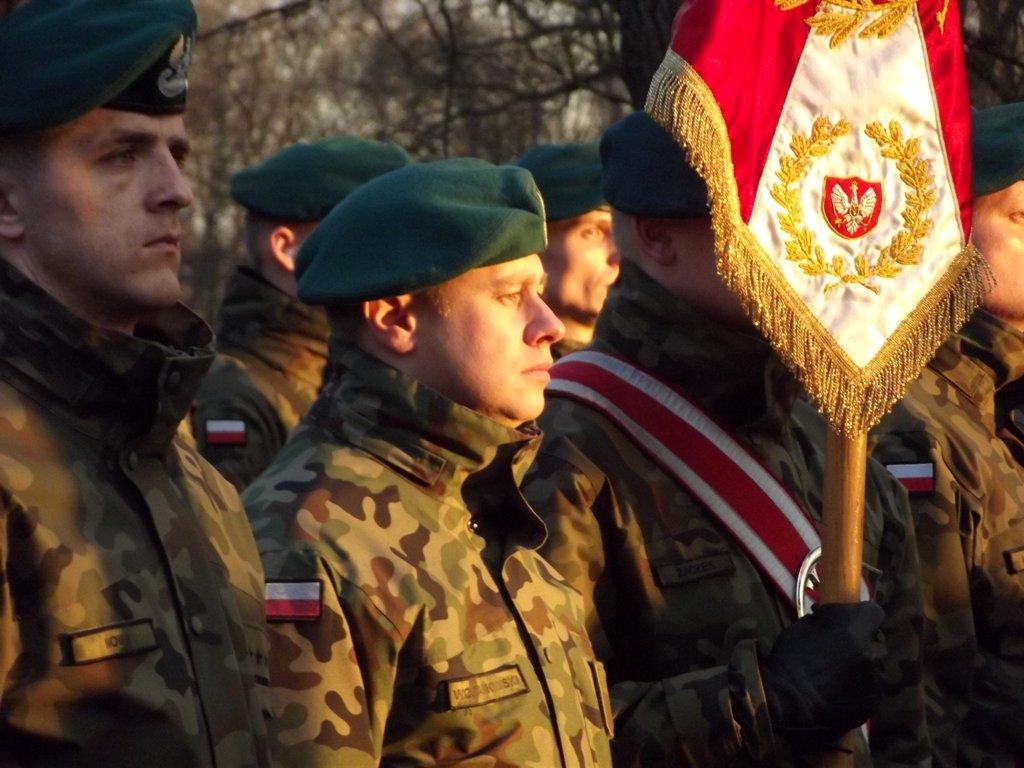 Fotografia żołnierzy polskich