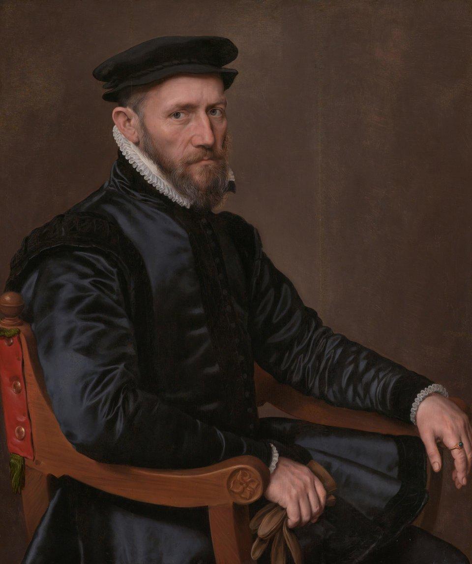 Sir Thomas Gresham Źródło: The Yorck Project: 10.000 Meisterwerke der Malerei, Sir Thomas Gresham , licencja: CC 0.