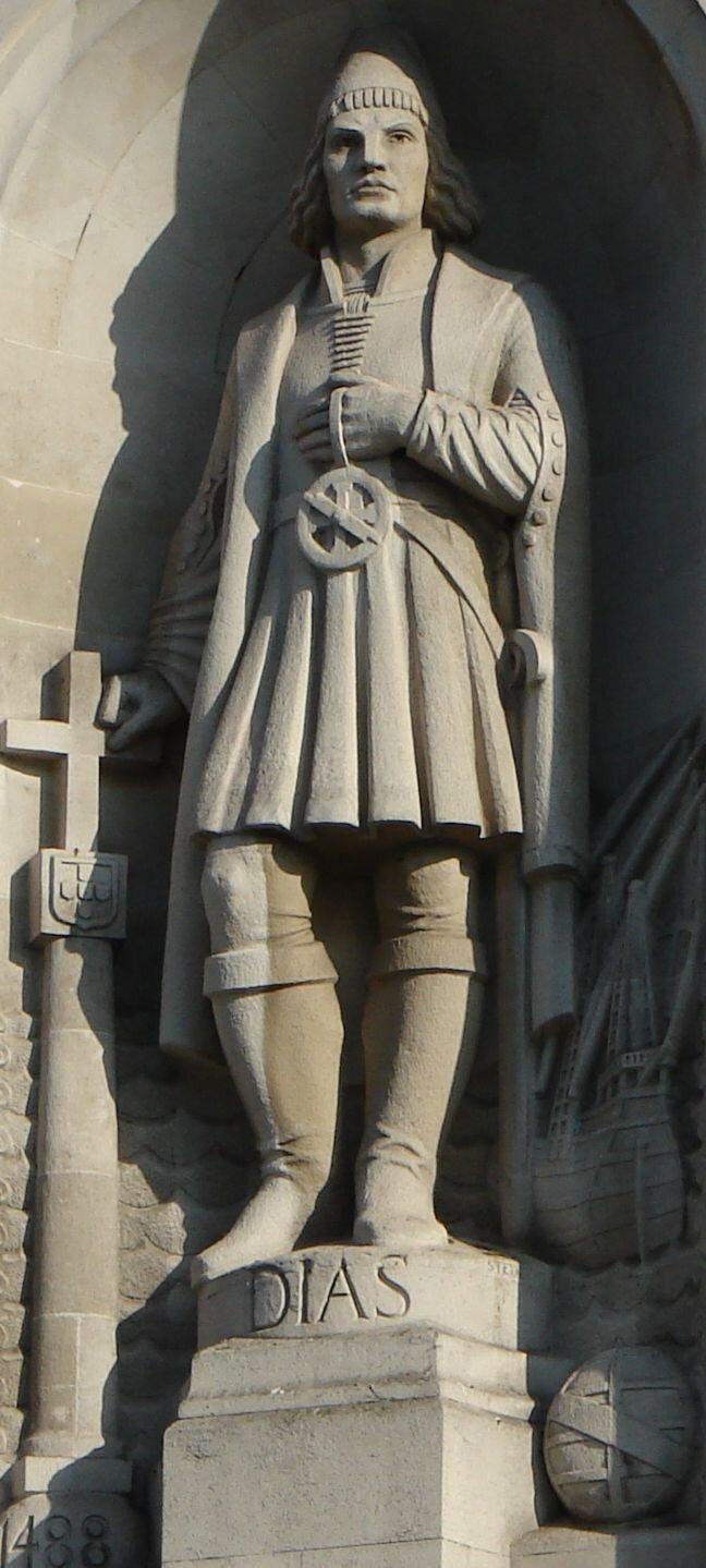 Pomnik Bartolomeo Diaz'a na placu Trafalgar Square wLondynie Pomnik Bartolomeo Diaz'a na placu Trafalgar Square wLondynie Źródło: Biser Todorov, Wikimedia Commons, licencja: CC BY-SA 3.0.