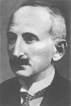 zdjęcie-portret Bolesława Leśmiana sdf