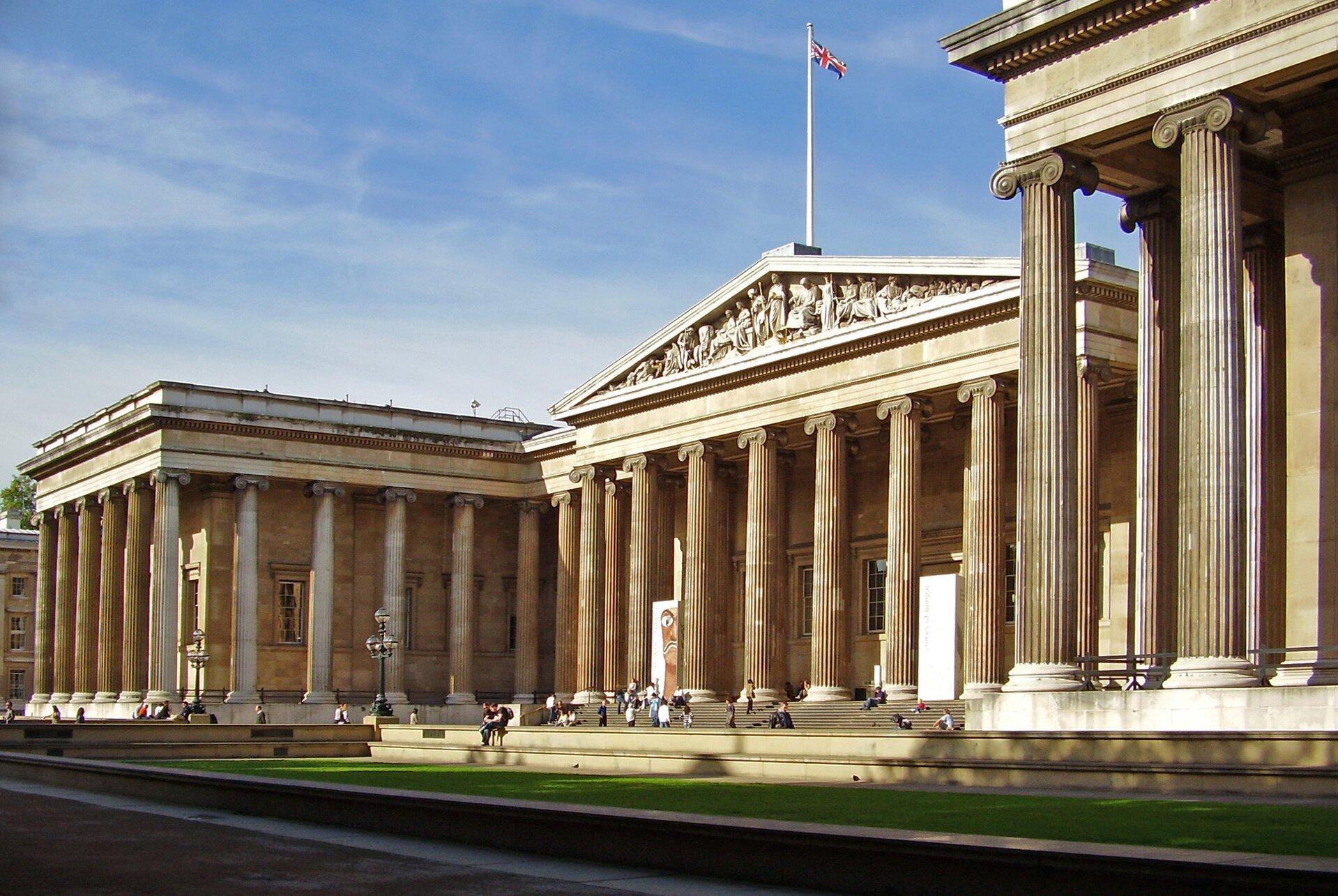 BritishMuseum wLondynie BritishMuseum wLondynie Źródło: Ham, licencja: CC BY-SA 3.0.