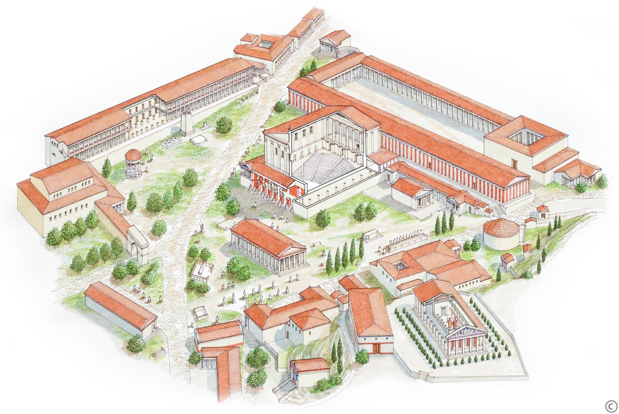 Agora ateńska Agora ateńska Źródło: Thinkstock, tylko do użytku edukacyjnego na epodreczniki.pl.