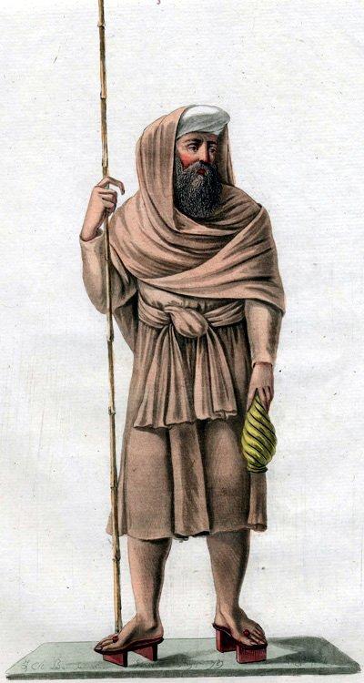 Misjonarz jezuicki – obraz zok. 1779 r. Źródło: Misjonarz jezuicki – obraz zok. 1779 r., 1779, domena publiczna.