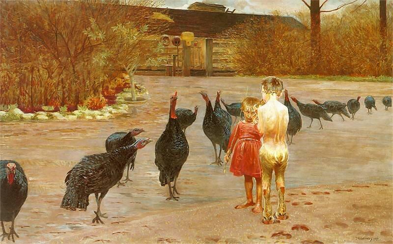 Sztuka wzaścianku Źródło: Sztuka wzaścianku, 1896, olej na płótnie, Muzeum Narodowe wWarszawie, licencja: CC 0.