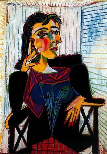 Portret Dory Maar Źródło: Pablo Picasso, Portret Dory Maar, 1937, olej na płótnie, Musée Picasso, Paryż.