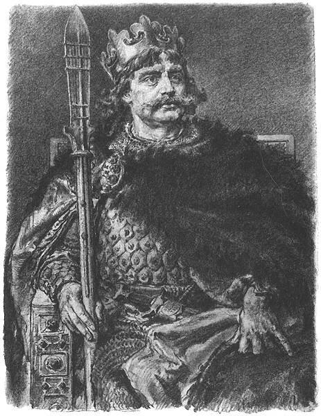 Bolesław IChrobry Źródło: Jan Matejko, Bolesław IChrobry, 1890-1892, domena publiczna.