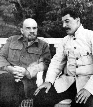Lenin iStalin Lenin iStalin Źródło: domena publiczna.