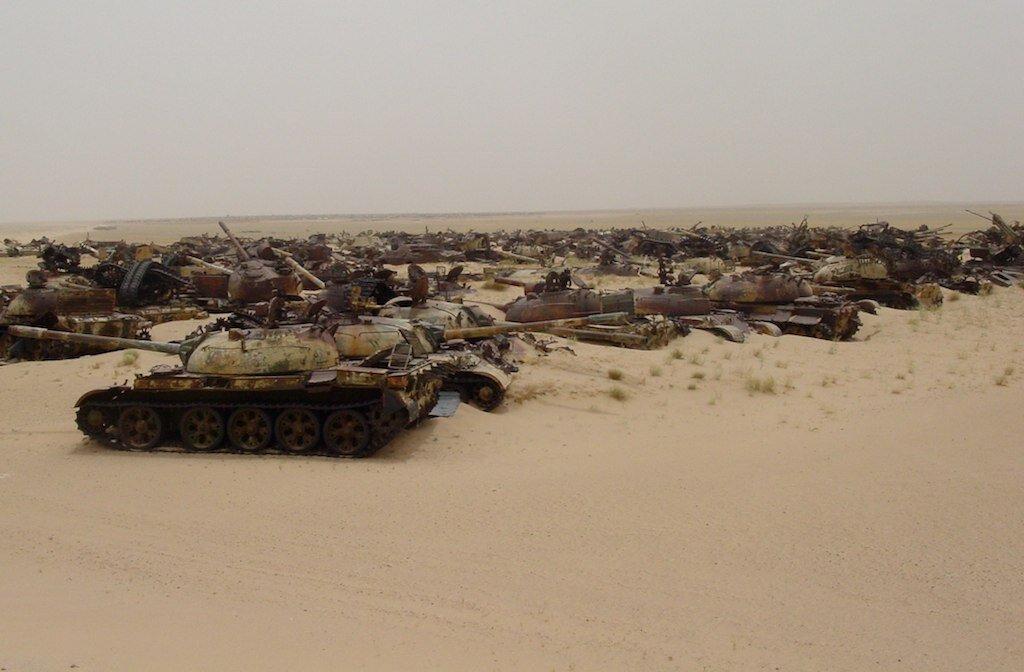 Cmentarzysko czołgów Źródło: John Out and About, fotografia, licencja: CC BY 2.0.