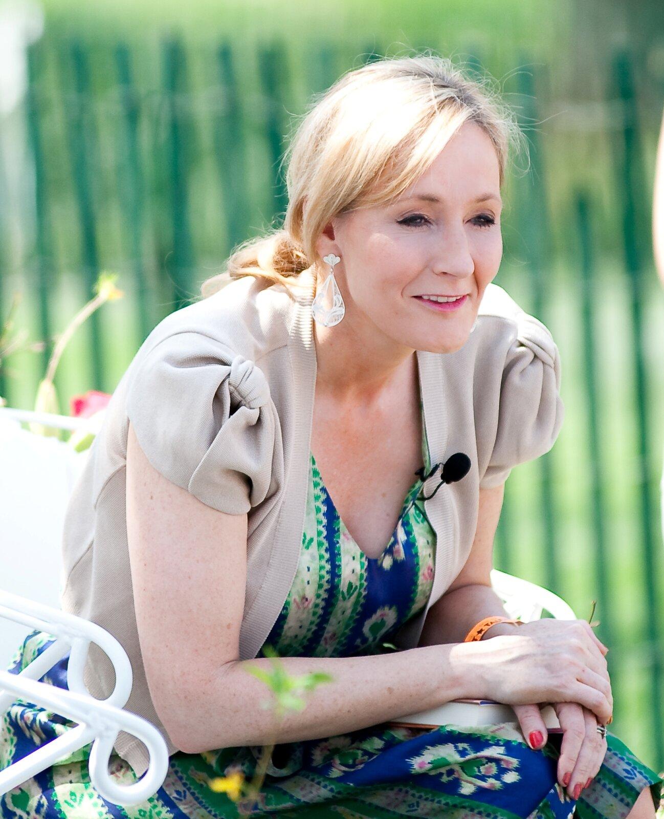 J.K.Rowling zdjęcie do biogramu Źródło: Daniel Ogren, licencja: CC BY 2.0.