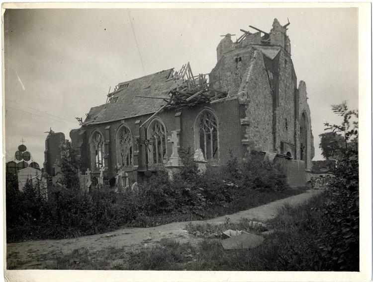 Kościół Źródło: Charles Hilton De Witt Girdwood, Kościół, 1915, British Library, domena publiczna.