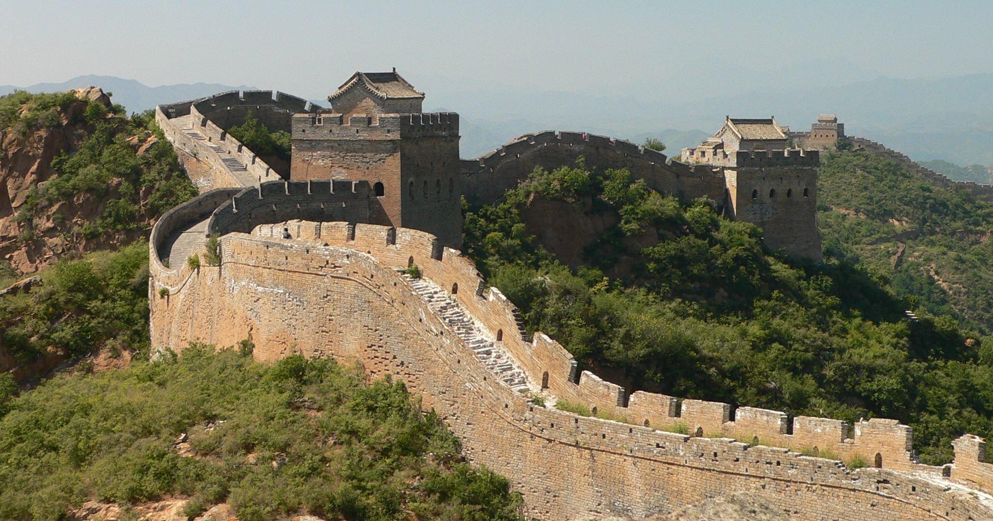 Wielki Mur Chiński Źródło: Craig Nagy, Wielki Mur Chiński, licencja: CC BY-SA 2.0.