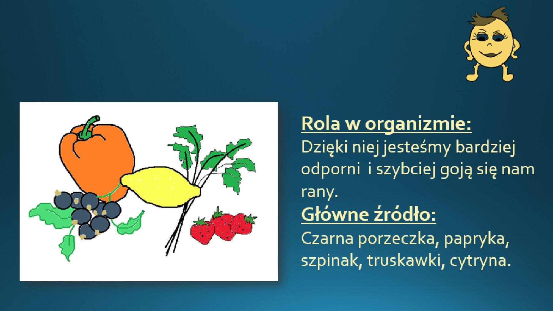 Zrzut slajdu zdołączonym tekstem