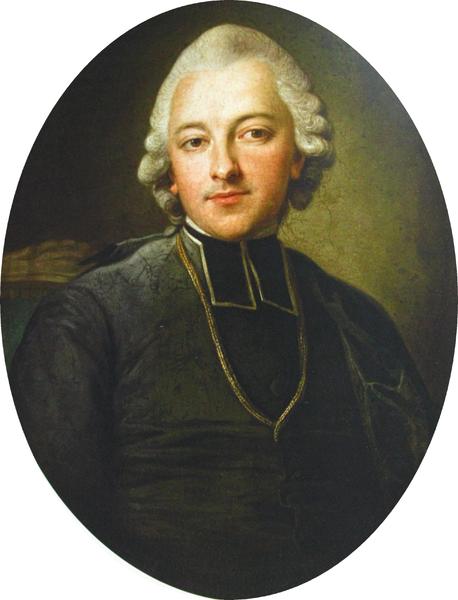 Portret Ignacego Krasickiego Źródło: Per Krafft, Portret Ignacego Krasickiego, około 1768, Muzeum Narodowe, Kraków, domena publiczna.
