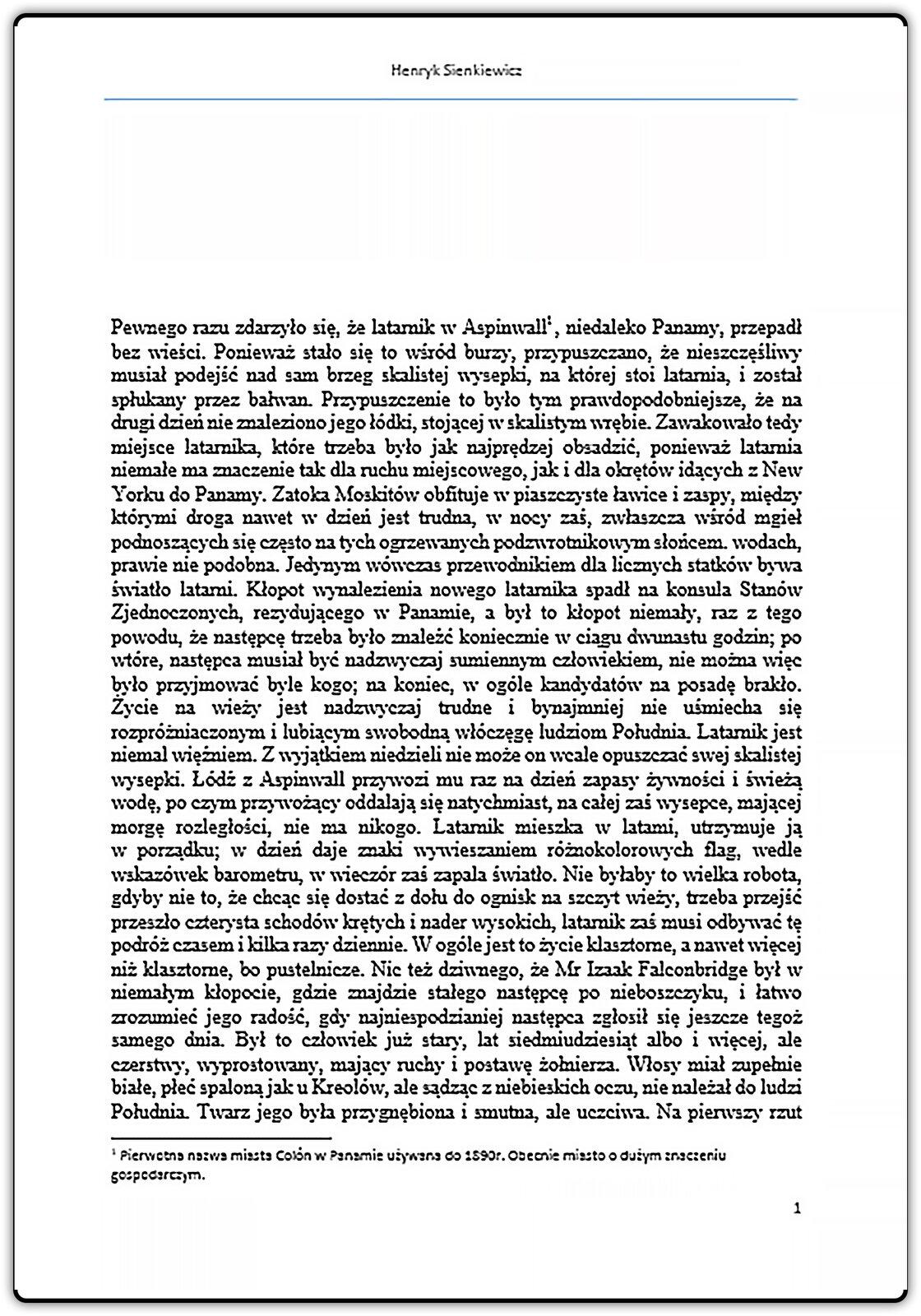 Slajd 3 galerii dokumentów prezentujących zastosowanie nagłówka istopki