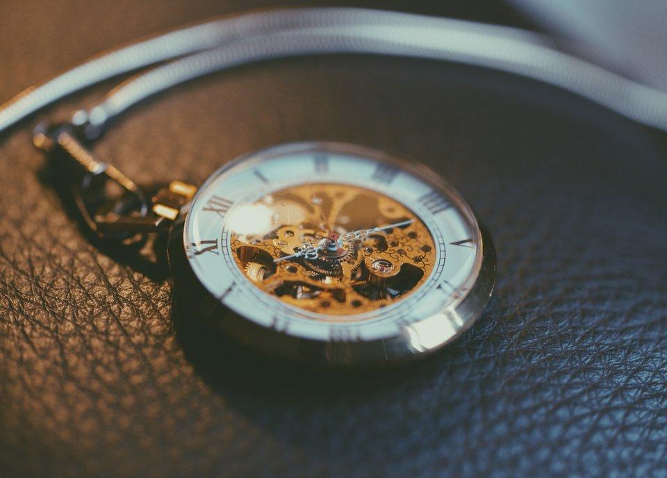 Zegar kieszonkowy Źródło: domena publiczna.