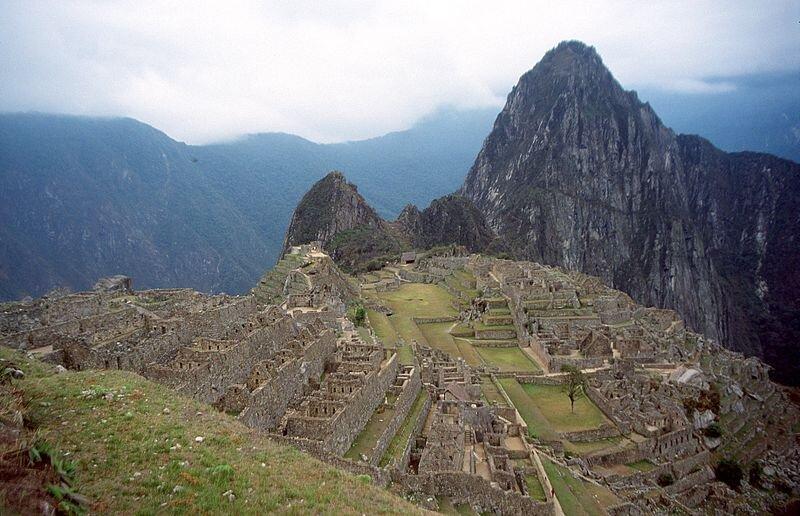 na zdjęciu widać ruiny miasta Machu Picchu