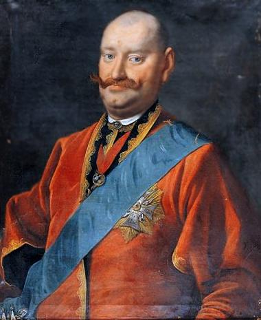 """Karol Stanisław """"Panie Kochanku"""" Radziwiłł Źródło: Karol Stanisław """"Panie Kochanku"""" Radziwiłł , po. 1767, Olej, domena publiczna."""