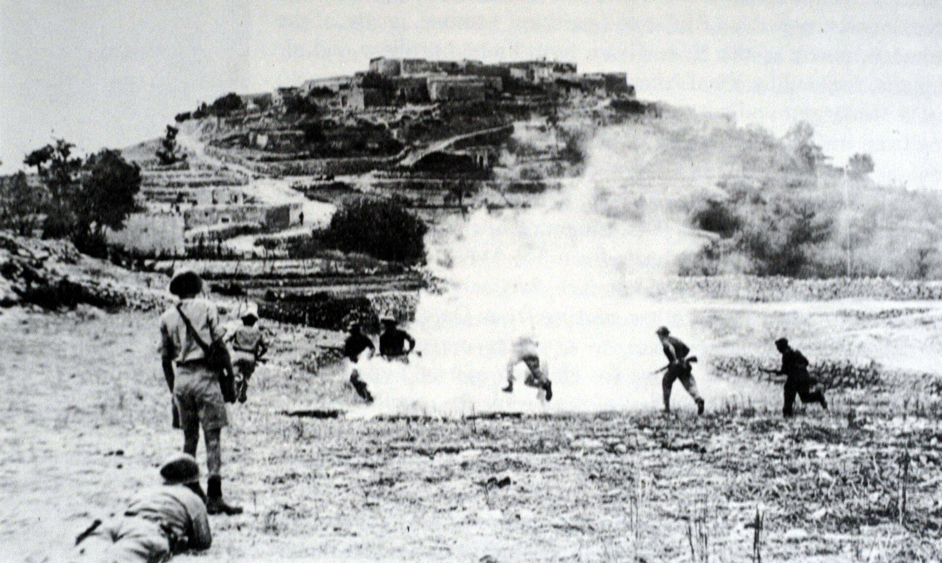 Działania zbrojne podczas wojny sześciodniowej Źródło: Działania zbrojne podczas wojny sześciodniowej, Fotografia, domena publiczna.